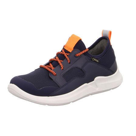Lace-up Navy/Orange Trainers by Superfit