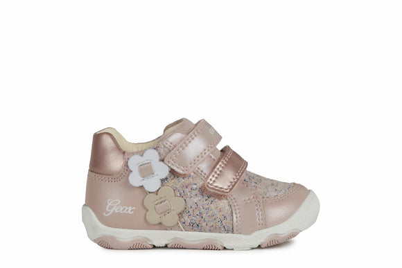 B N.Balu Light Rose High Trainers