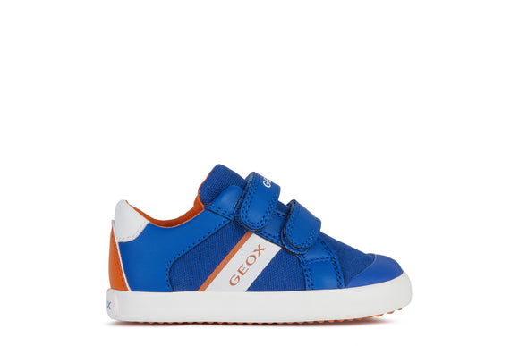Gisli Royal/Orange Trainers