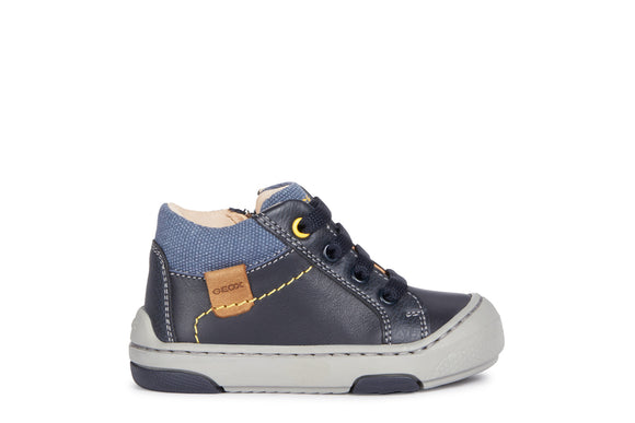 Jay Navy Ankle Boot