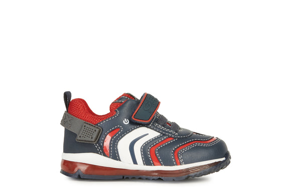 Todo Navy/Red Trainers