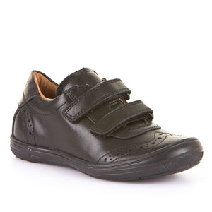 Marcel Leather Brogue Velcro Shoes