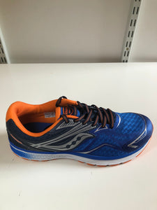 Ride 9 Boys Blue/Orange saucony