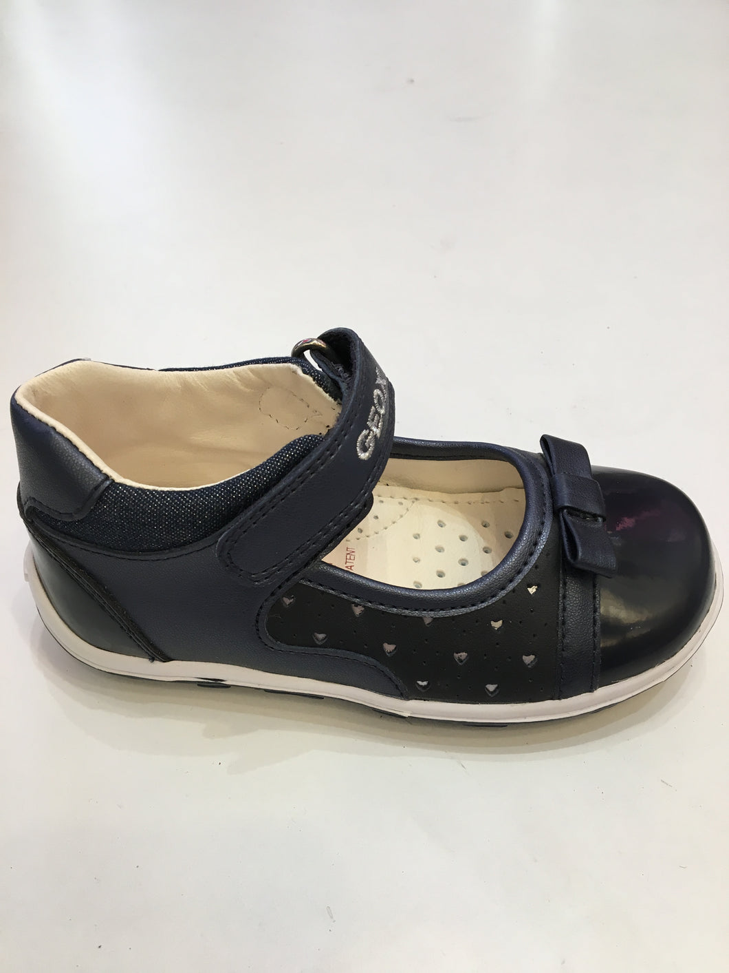 Bubble navy shoe