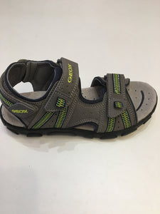 Strada Grey/Lime Sandal