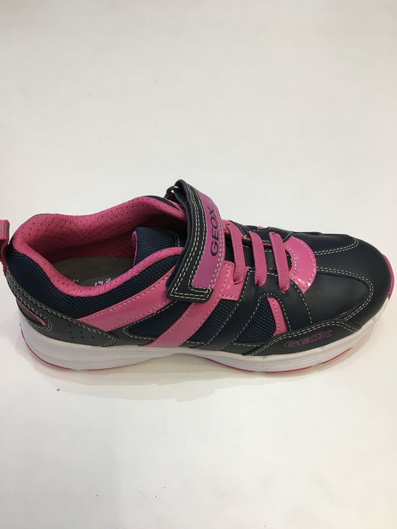Top Fly Girl Navy/Fuchsia Trainers