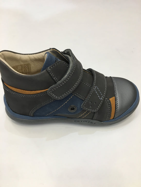 Nabuk Grey/blue/Tan Boots