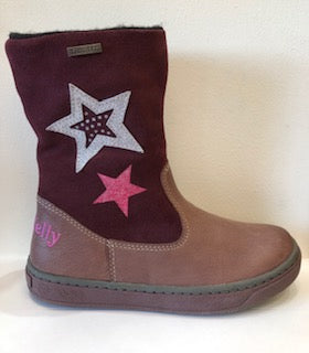 Karin Burgundy Waterproof Boots