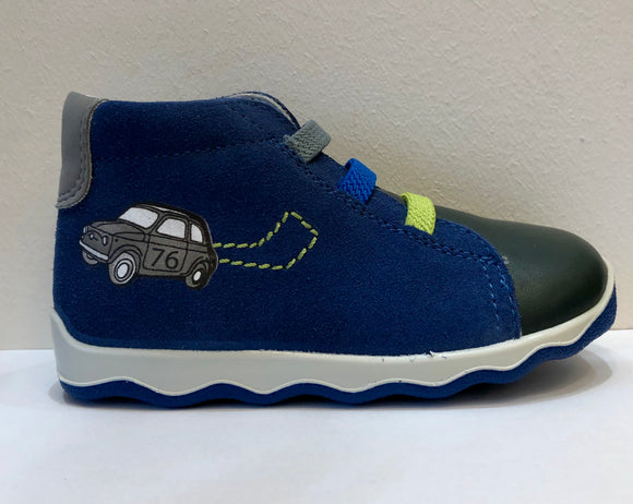 Glee Navy Car Boots