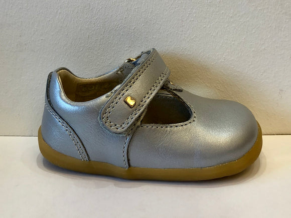 SU Louise t-bar Silver Shoes