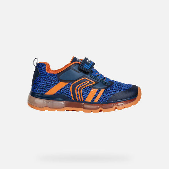 Android Navy/Orange Trainers