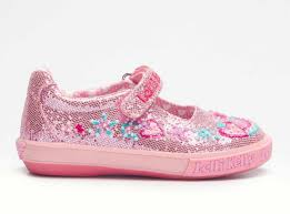 Margaery Pink Glitter Lelli Kelly Shoes