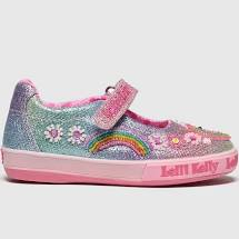 Rainbow Unicorn Multi Glitter Lelly Kelli Shoes