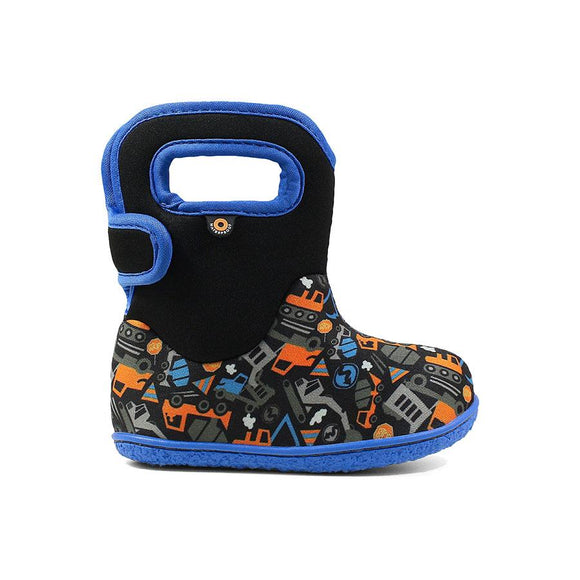 Baby Bogs Construction Black Multi