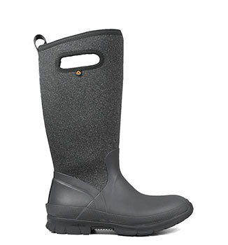 Crandall Tall Dark Grey Boots
