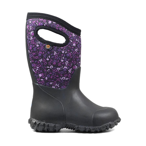 Bogs K York Freckle Black Multi(Purple)
