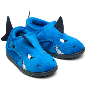 Sharky Blue Slippers
