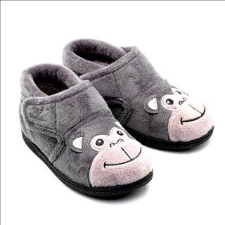 Bubbles Dark Grey Slippers