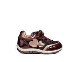 Shaax Bordeaux/pink Trainers