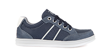 Anthor Navy/White Trainers