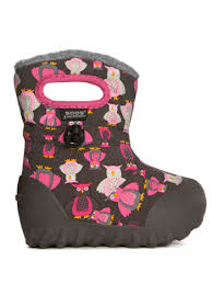 B-Moc Puff Owls Dark Grey/pink