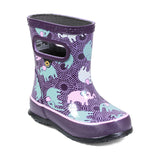 Skipper Elephant Wellies in Purple by Bogs