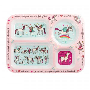 Unicorns Compartment Tray