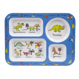 Dino Compartment Tray