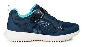 Waviness Navy/Watersea Trainers