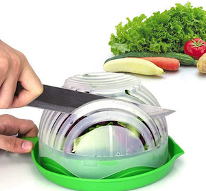 60 Seconds MealPrep Regular Salad Cutter Bowl