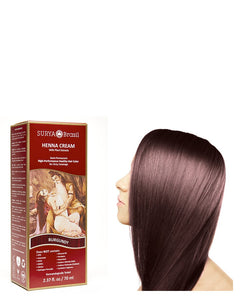 Surya Brasil - Henna Cream Burgundy - 1 Each - 2.37 Oz - Vita-Shoppe.com