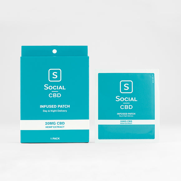 Select CBD - Social CBD Patch - 20 Mg 1 Pack -  1 Count - Vita-Shoppe.com