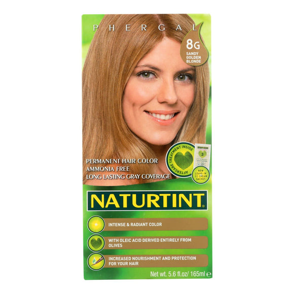 Naturtint Hair Color - Permanent - 8g - Sandy Golden Blonde - 5.28 Oz - Vita-Shoppe.com