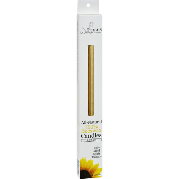 Wally's Beeswax Ear Candle - 2 Candles - Vita-Shoppe.com