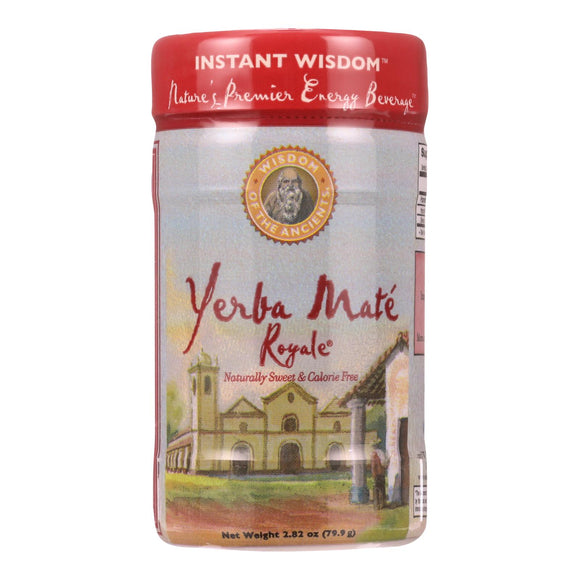 Wisdom Natural Organic Yerba Mate Royale Tea - 2.82 Oz - Vita-Shoppe.com