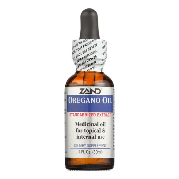 Zand Oregano Oil Standardized Extract - 1 Fl Oz - Vita-Shoppe.com