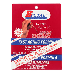 Sublingual Products B-total Twin Pack - 2 Fl Oz - Vita-Shoppe.com