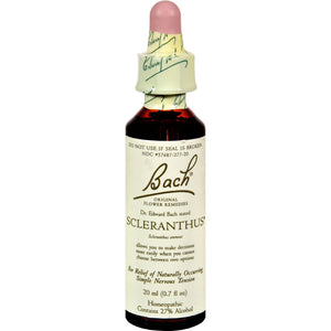 Bach Flower Remedies Essence Scleranthus - 0.7 Fl Oz - Vita-Shoppe.com