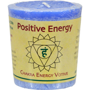 Aloha Bay Chakra Votive Candle - Positive Energy - Case Of 12 - 2 Oz - Vita-Shoppe.com