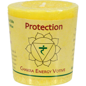 Aloha Bay Chakra Votive Candle - Protection - Case Of 12 - 2 Oz - Vita-Shoppe.com