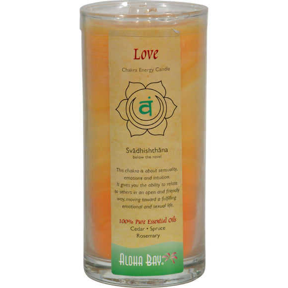 Aloha Bay Chakra Candle Jar Love - 11 Oz
