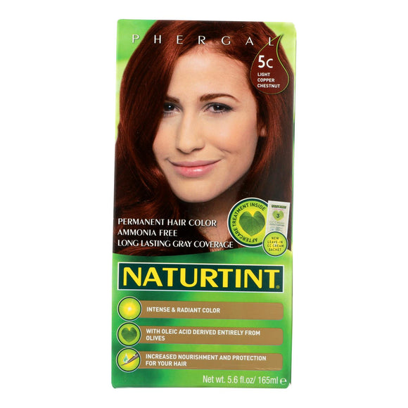 Naturtint Hair Color - Permanent - 5c - Light Copper Chestnut - 5.28 Oz - Vita-Shoppe.com