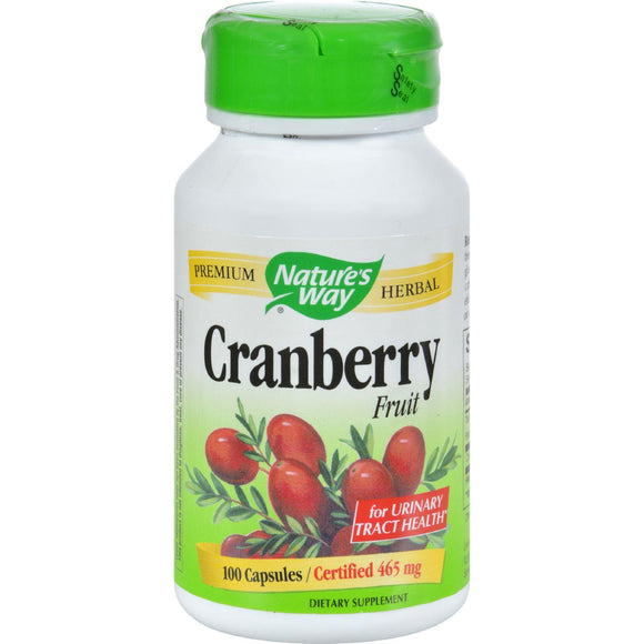 Nature's Way Cranberry Fruit - 100 Capsules - Vita-Shoppe.com