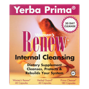 Yerba Prima Women's Renew Internal Cleansing - 1 Kit - Vita-Shoppe.com