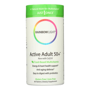 Rainbow Light Active Senior Multivitamin - 90 Tablets - Vita-Shoppe.com