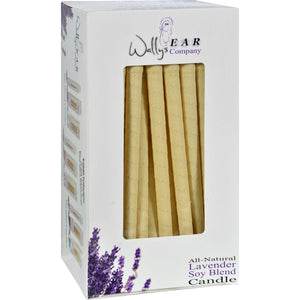 Wally's Natural Products Candles -soy Blend Lavender - Case Of 75 - Vita-Shoppe.com