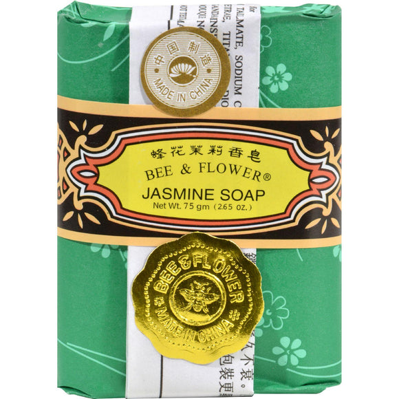 Bee And Flower Soap Jasmine - 2.65 Oz - Case Of 12 - Vita-Shoppe.com