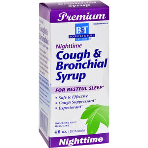 Boericke And Tafel Cough And Bronchial Syrup Nighttime - 4 Fl Oz - Vita-Shoppe.com