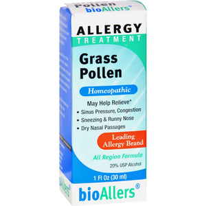 Bio-allers Grass Pollen Treatment - 1 Fl Oz - Vita-Shoppe.com