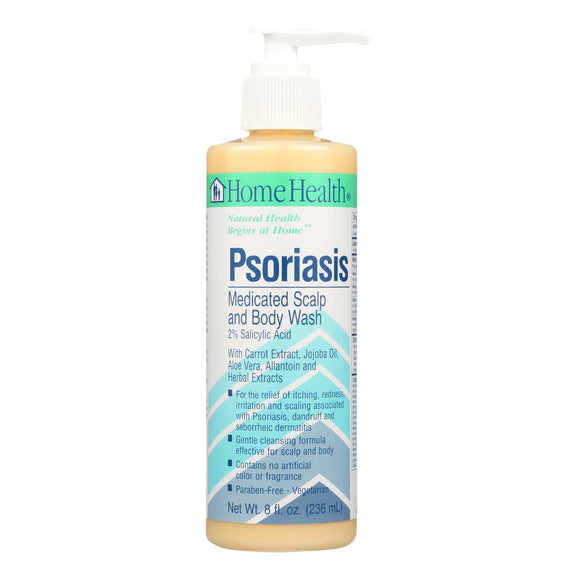 Home Health Psoriasil Medical Body Wash - 8 Fl Oz - Vita-Shoppe.com